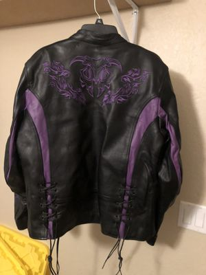 Leather riding jacket for Sale in Phoenix, AZ