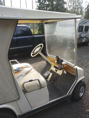 Yamaha golf cart w/ trailer for Sale in Monroe, WA