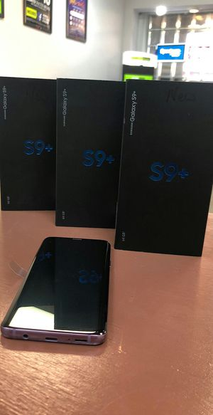 Samsung Galaxy S9 Plus - 64Gb - Like New / Like New In Box / Cracked - Factory Unlocked Starting @ for Sale in Arlington, TX