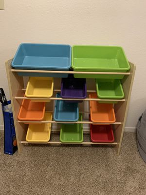 Kids toy storage container for Sale in Fresno, CA