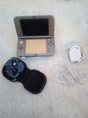 Nintendo 3DS XL Game System with Sony Headphones, 1 Game, Bag and power cord. for Sale in Costa Mesa, CA