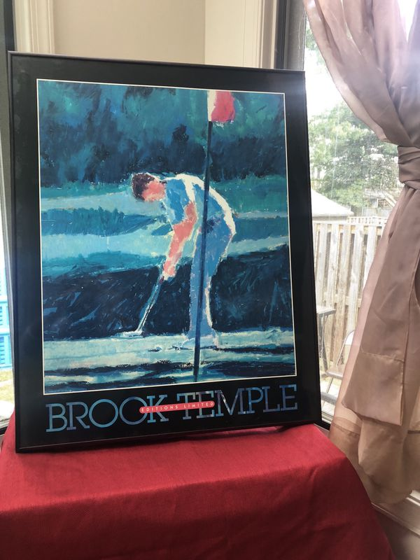 Brook Temple Golf Poster Print Editions Limited, Susanna Anderson-Carey
