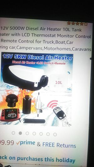 Tseipoaoi heater for boat rv etc for Sale in Pembroke Pines, FL