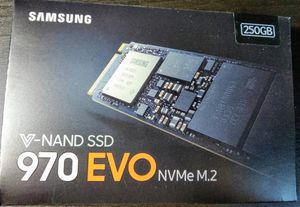 Samsung 970 EVO 250GB NVMe M.2 SSD Solid State Drive for Sale in Somerville, MA
