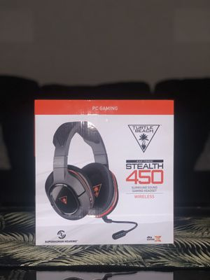 TURTLE BEACH STEALTH 450 WIRELESS HEADSET NEW for Sale in Garden Grove, CA