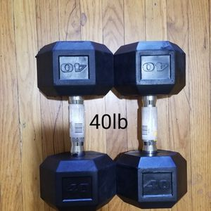 NEW 40 POUND / 40LB DUMBBELLS for Sale in San Dimas, CA