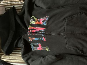 Pink Zip Up Furry Hoodie Sz Small for Sale in Silver Spring, MD