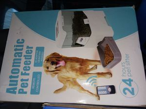 New automatic petfood feeder for Sale in Parkersburg, WV