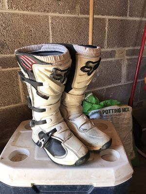 Fox dirt bike boots size 9 for Sale in Denver, CO
