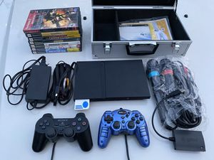 PS2 Slim and Games Playstation for Sale in North Haven, CT