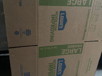 Large Moving Boxes for Sale in Visalia,  CA