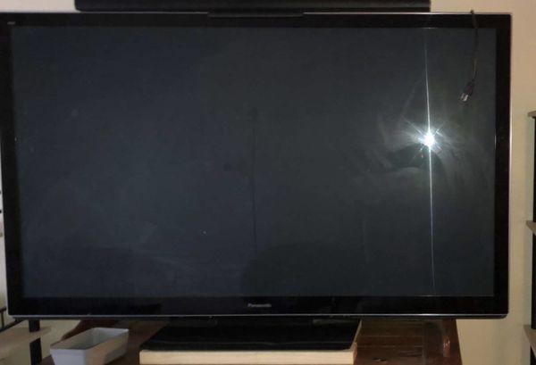 "Panasonic 65"" plasma 3D Tv"