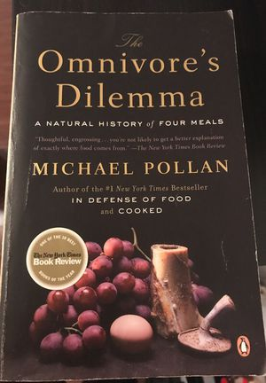 Omnivores dilemma by Michael pollan book for Sale in Downey, CA