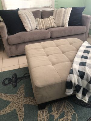 Sofa / Couch / Queen sleeper with Ottoman for Sale in Key Largo, FL