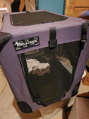 Travel dog crate for Sale in Shamokin Dam, PA
