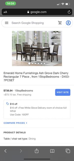 DINING TABLE for Sale in Puyallup, WA