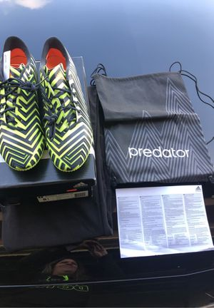 Adidas Predator Instinct FG Soccer cleats Size 8.5 for Sale in Corona, CA