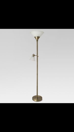 Threshold Floor Lamp (Brass) for Sale in San Diego, CA