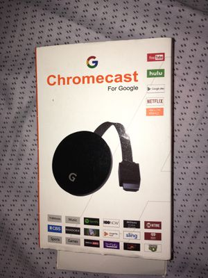 Chromecast for google for Sale in Huntington Station, NY