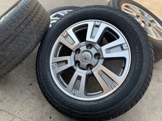 "20"" Toyota Tundra Wheels 275 55 20 Tires Sequoia Rims Land Cruiser for Sale in Rio Linda,  CA"