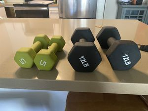 Hand weights for Sale in Carlsbad, CA