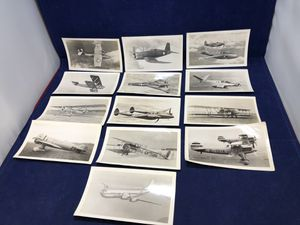 Lot of 13 Military Aircraft Photos WWII Aeroplane Photo Supply for Sale in New Holland, PA