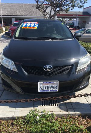 2010 Toyota Corolla black one owner 74,000 miles for Sale in Huntington Beach, CA
