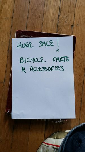 NEW Bicycle parts & accessories for Sale in Chicago, IL