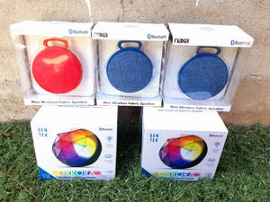 Bluetooth Speaker Rechargeable $15 Each for Sale in Riverside, CA