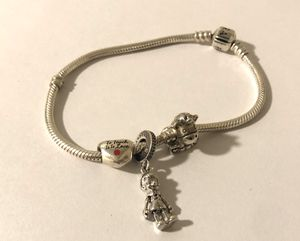 Pandora Moments Barrel Clasp Bracelet and Charms for Sale in Seattle, WA