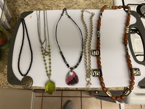 Costume necklaces - sold as lot for Sale in Ontario, CA