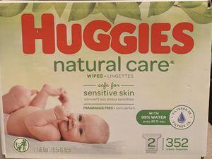 Huggies natural wipes for sensitive skin 352 count for Sale in Dunwoody, GA