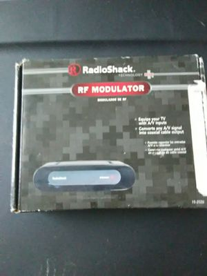 RadioShack rf switch new for Sale in Lorain, OH