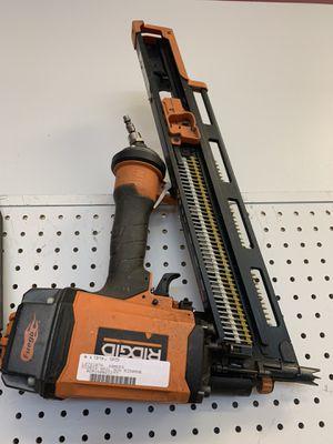 Ridgid nail gun for Sale in Austin, TX