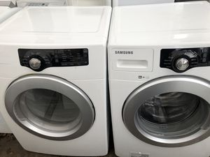 SAMSUNG WASHER AND GAS DRYER SET for Sale in Stockton, CA