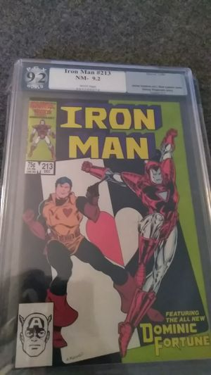 Iron Man #213 Dec 1986 PGX 9.2 for Sale in Shelton, CT