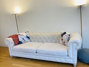 Restoration hardware alike couch (originally bought for $1700) for Sale in New York, NY