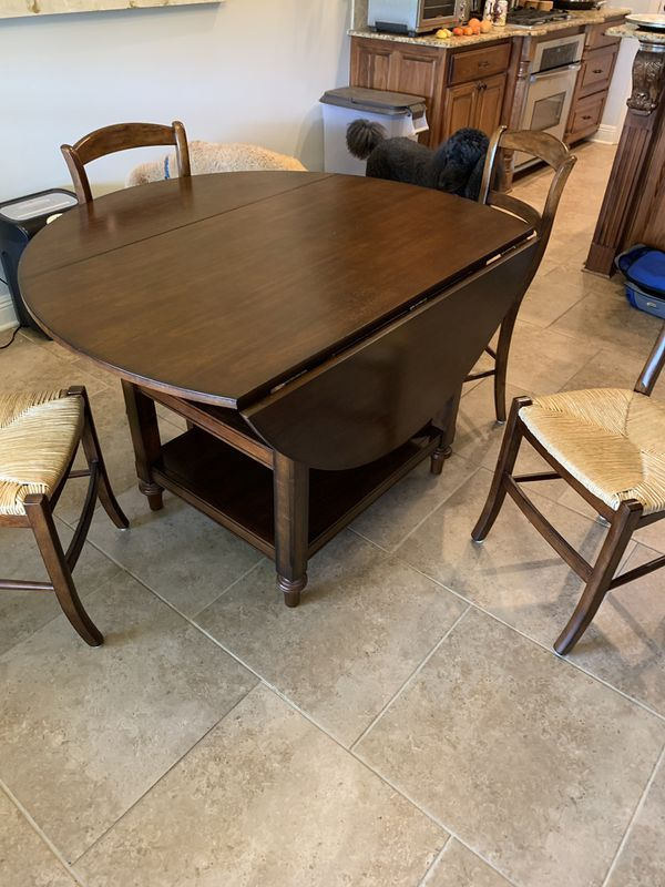 Pottery Barn Drop Leaf Table W 4 Chairs For Sale In Addis
