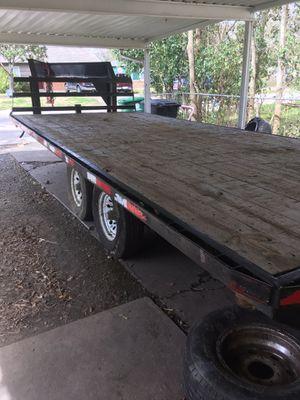 20 ft gooseneck trailer $3500 for Sale in Houston, TX