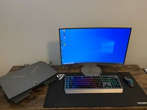 Gaming Laptop all set Monitor keyboard Mouse for Sale in Farmington, UT