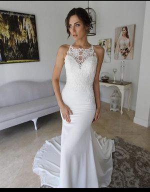Brides of Florida wedding dress size 8 for Sale in Miami, FL