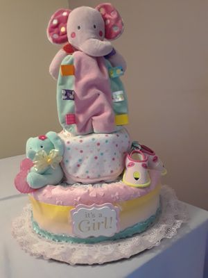 Diaper cake - Elephant for Sale in Plantation, FL
