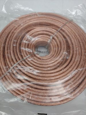 Audio cable : 10 gauge CCA 50 feet speaker wire for Sale in Bell Gardens, CA