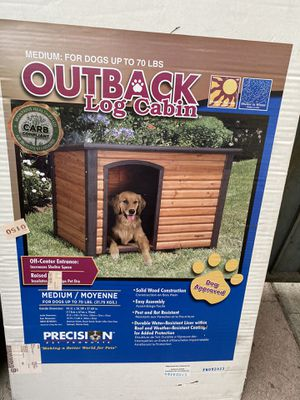 Dog house for sale $80 FIRM brand new fits medium size dogs for Sale in Los Angeles, CA