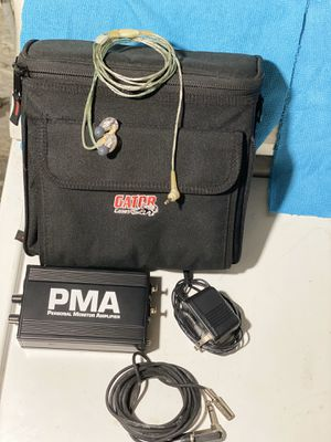 SHURE PERSONAL MONITOR AMPLIFIED for Sale in Mount Oliver, PA