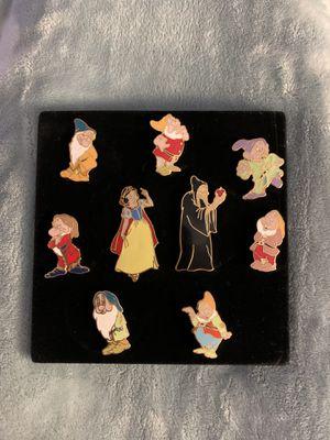 Disney Snow White Pin set for Sale in Davie, FL