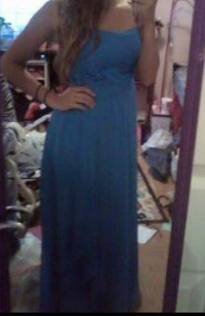 Blue prom or bridesmaid dress for Sale in US