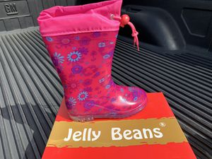 New Jelly Beans Kids Rain Boots Size 11 for Sale in Doral, FL