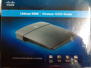 Linksys E900 Wireless N300 Router used for Sale in Philadelphia, PA