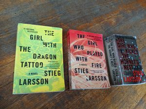"Stieg Larsson Complete Book Collection of "" The Girl series "" for Sale in San Diego, CA"